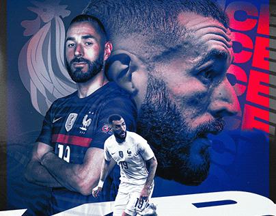 Karim Benzema // Equipe de France Football