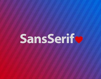 Sans-Serif Love
