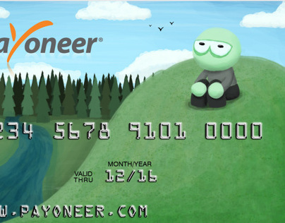 Payoneer Card Design contest by ACDesign