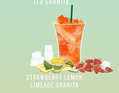 Starbucks Summer Granitas