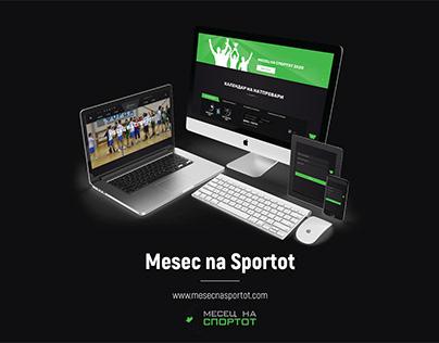 Web Design & Development – MesecNaSportot.com | IA