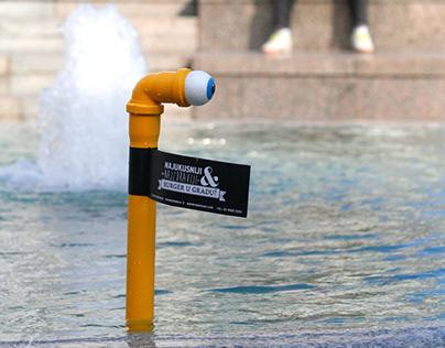 Yellow Submarine - Guerrilla campaign