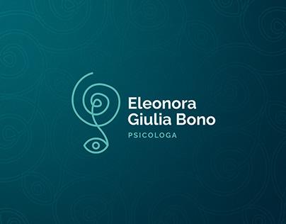 Logo Design - E. G. Bono   Psicologa