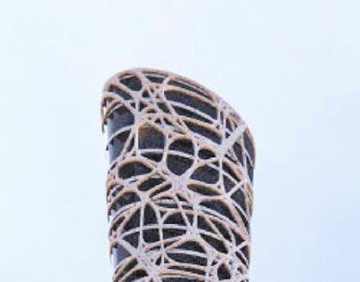 Twisted Tower (Grasshopper & Keyshot )