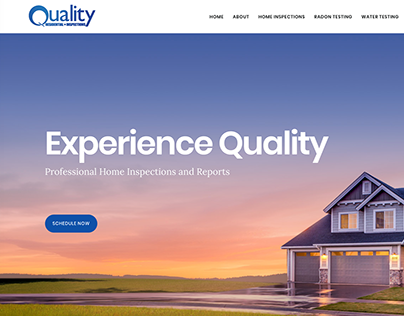 QRI Quality: Website Theme Design & Branding