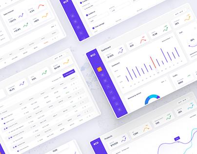 Eco -Ecommerce Analytics Admin Dashboard