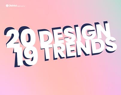 2019 Graphic Design Trends