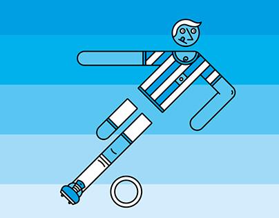 Otl Aicher sport illustrations