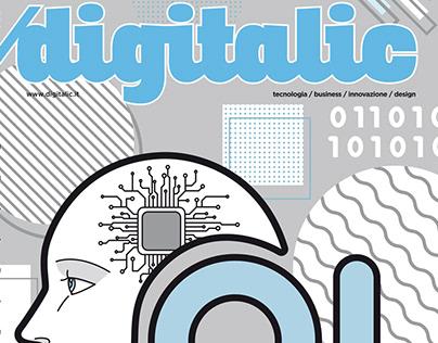 La copertina di Digitalic n. 101