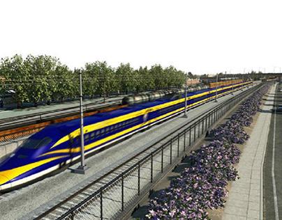 California dreaming for high-speed rail