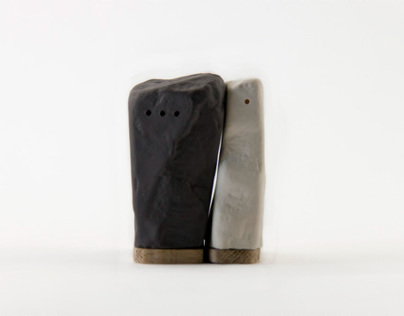 stones salt and pepper