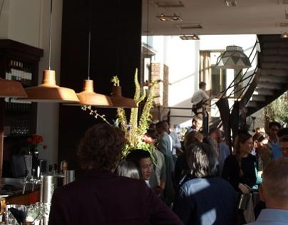 Lighting Plan Restaurant FJORD eat&drink Rotterdam