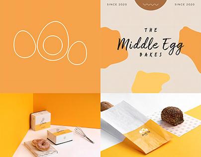 The Middle Egg Logo Design