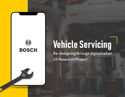 UX Research project for vehicle serving