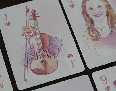 Wedding Gift - Custom Playing Cards