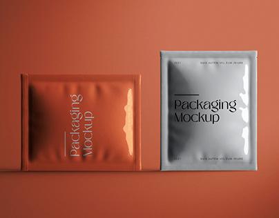 Foil Packaging Mockup