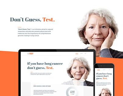 Don't Guess. Test. - Website Design