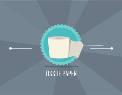 Info Motion Graphic   Tissue Paper