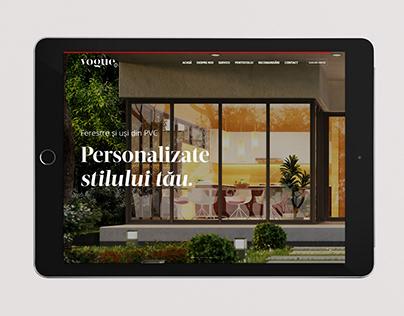 Vogue Volets — Branding & Website