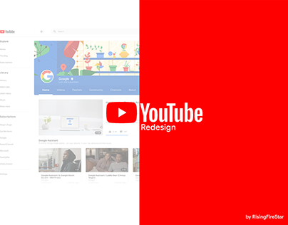 YouTube Material Redesign