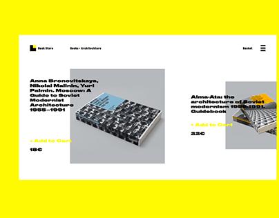 Bookstore site concept