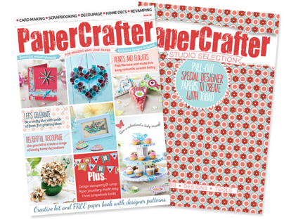 PaperCrafter Issue 62 with Studio Selection Paperbook