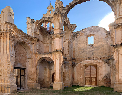 Iglesia Convento en Cuevas de Cañart