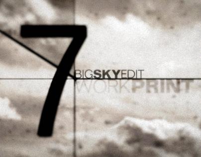 Big Sky Edit •Film Leader Countdown