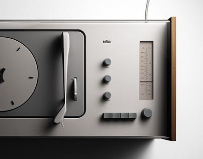 Braun SK 4 - 3D replica