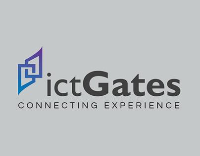 ictGates Logo Concept