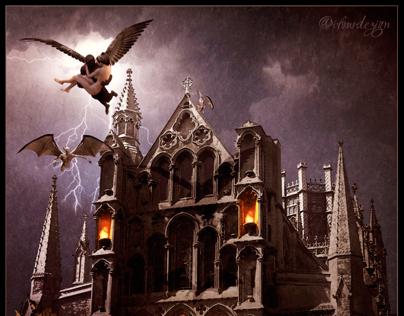 Dark Skies Over Hallowed Ground – Photo Manipulation