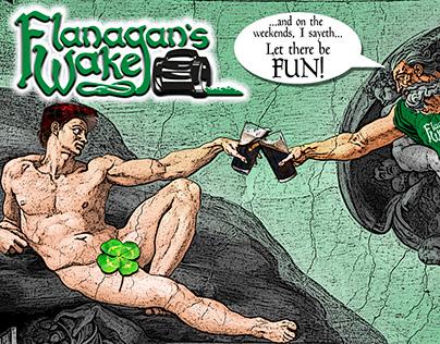 Flanagans Wake Ad 2020
