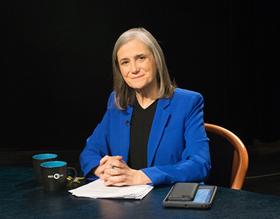 Amy Goodman Set Photography