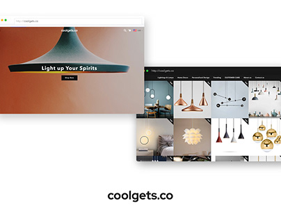 coolgets.co UI/UX Design & Website Development