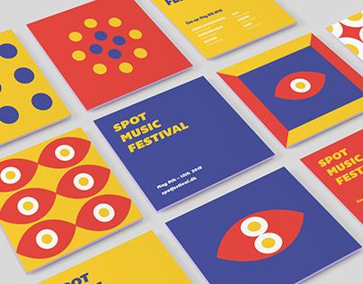 Spot Music Festival | Rebranding