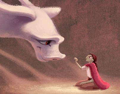 Falkor and Atreyu (The Neverending Story)