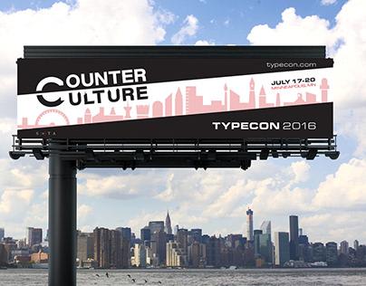 Counter Culture - TypeCon 2016 Branding Campaign