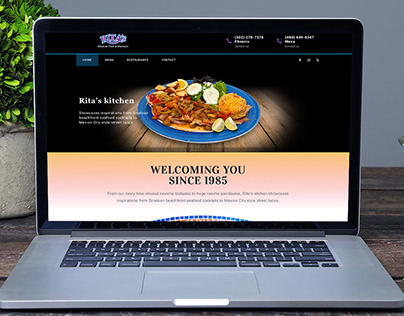 Web Design fro Mexican Restaurant