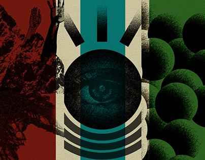 'Fabricated Façade' - Poster Series