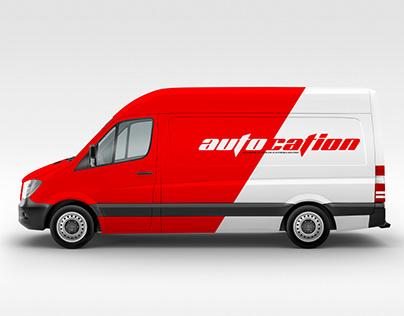 Autocation Logo Design Automobile