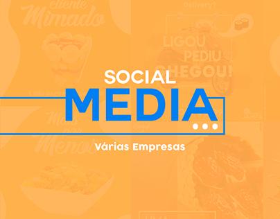 Social Media: Várias Empresas