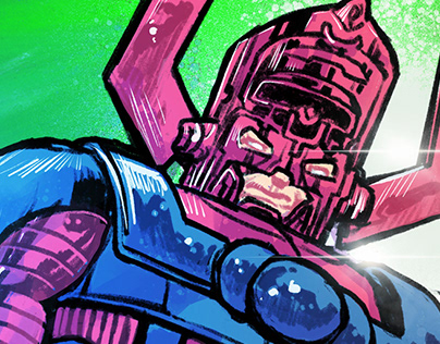 Galactus and his Herald