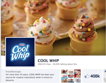 Cool Whip Strategy, Writing & Community Management