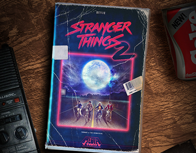 Stranger Things 2 fanart poster by The Sonnyfive