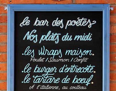 LE BAR DES POÈTES