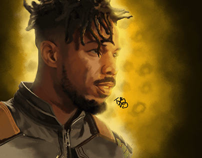 Killmonger Painting