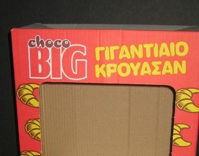 """Choco BIG  """"Γιγαντιαίο κρουασάν"""""""