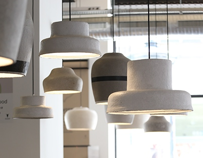 Paper Lamps and Paper Amphora for KAJAHU #FoodTogether