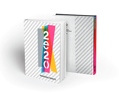 Cover design for Moveo Marketing promocional catalogues