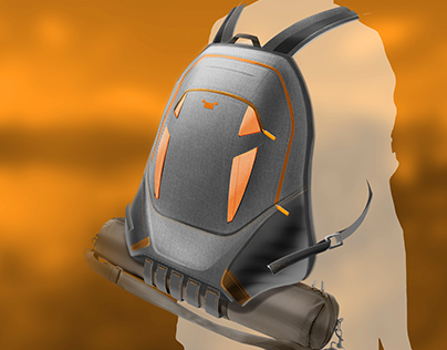 Backpack project for Jeep Renegade